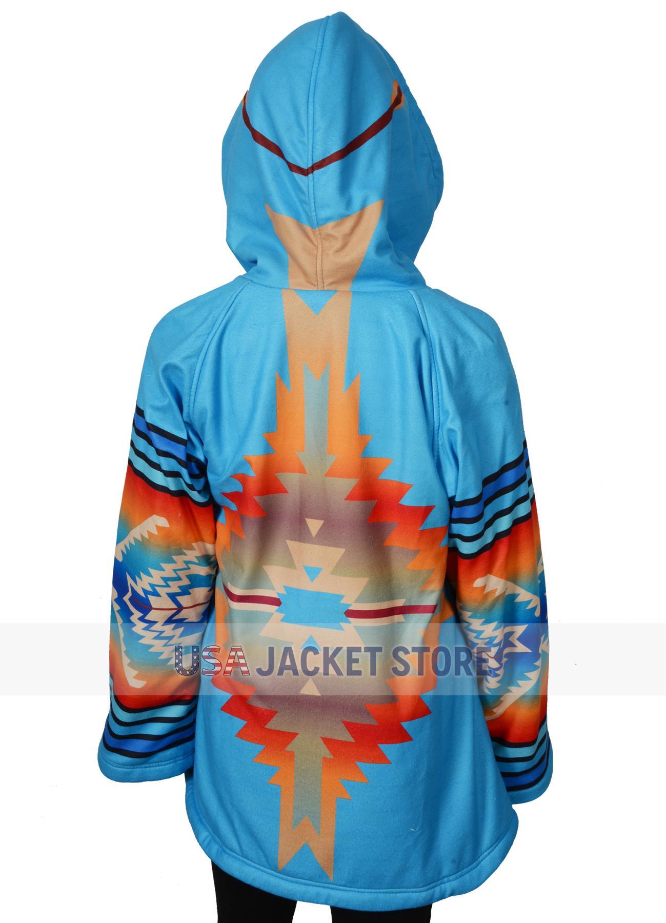 beth dutton yellowstone kelly reilly blue coat