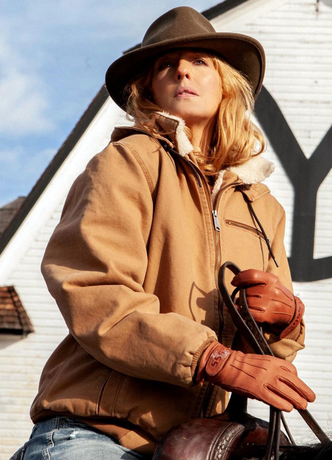 beth dutton yellowstone kelly reilly hoodie jacket