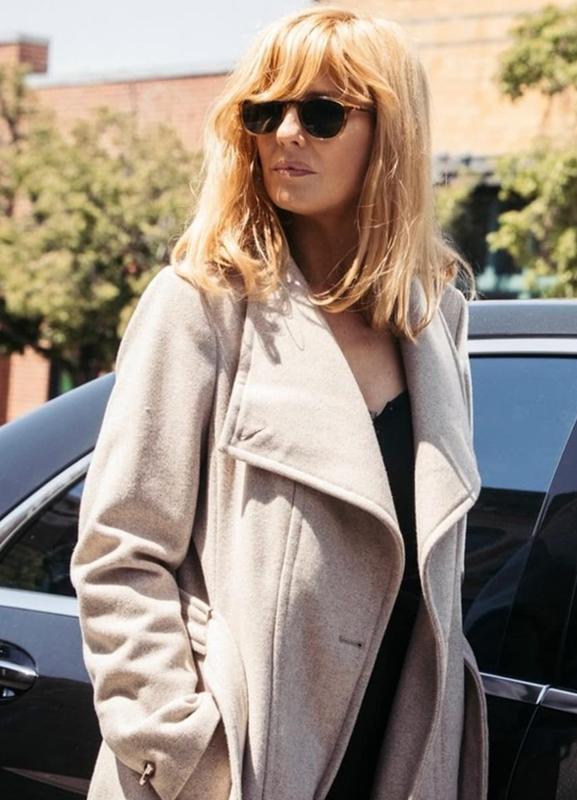 beth dutton yellowstone kelly reilly white coat