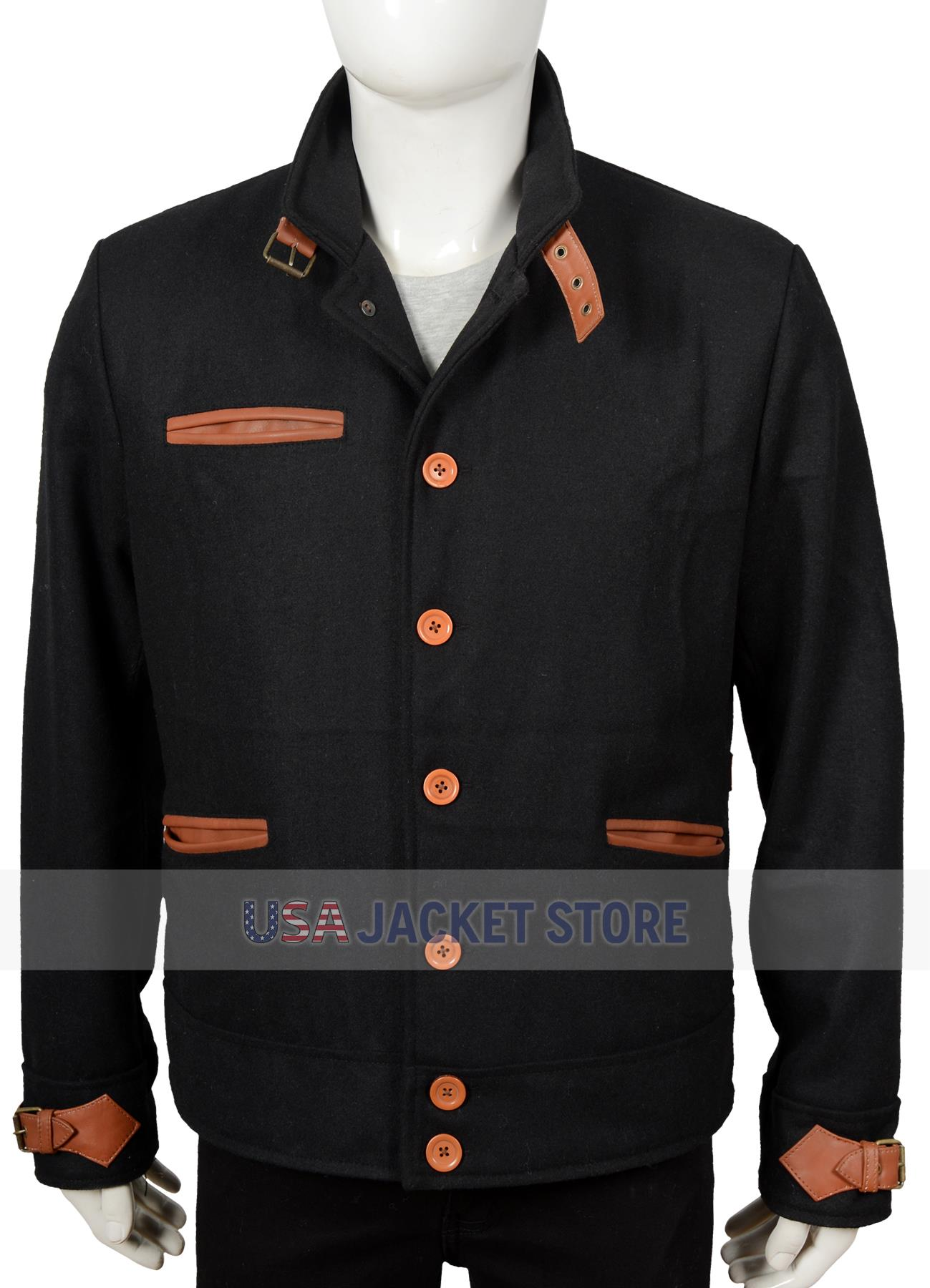 colby yellowstone denim richards wool jacket
