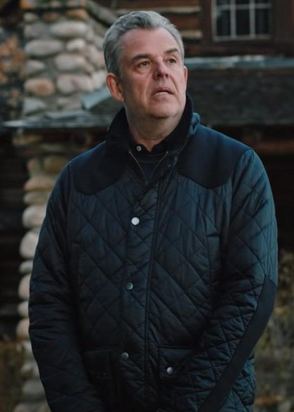 dan jenkins yellowstone danny huston quilted jacket