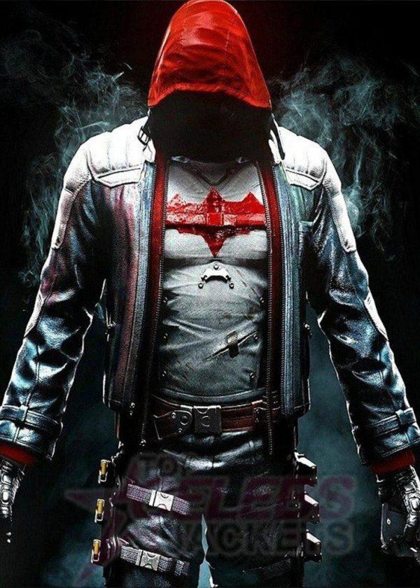 jason todd red hood leather jacket
