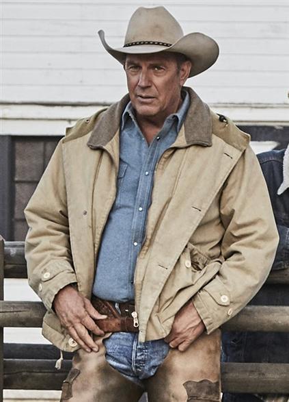 john dutton yellowstone kevin costner cotton jacket