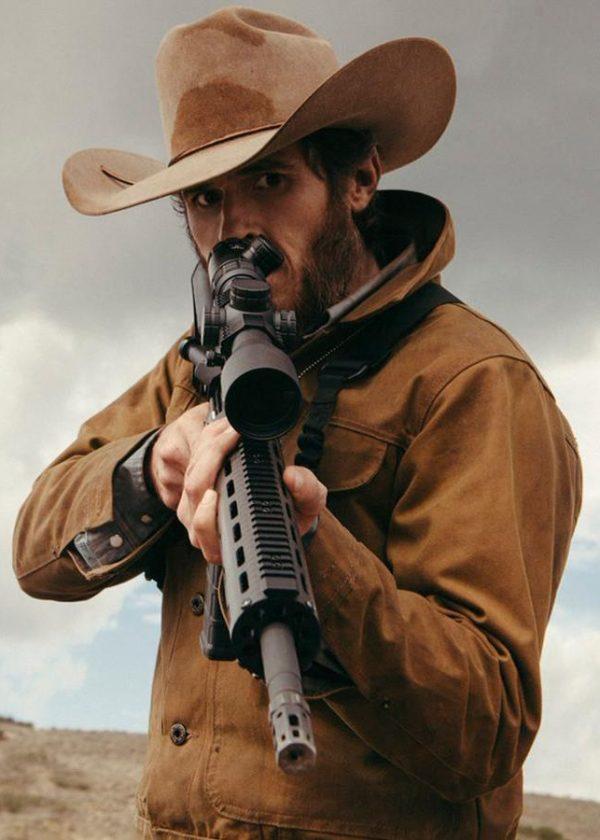 lee dutton yellowstone dave annable cotton jacket