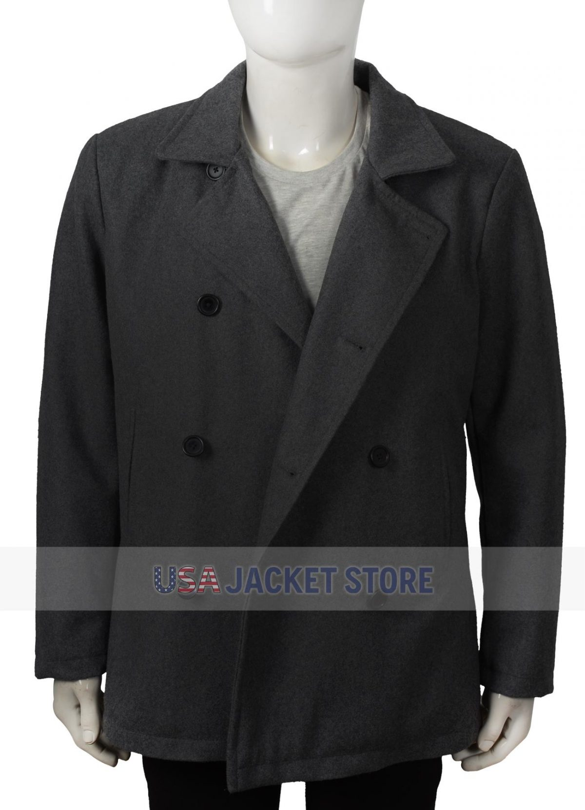 walker yellowstone ryan bingham pea coat