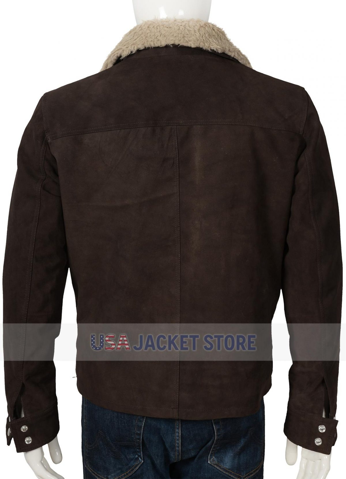 Andrew Lincoln The Walking Dead Rick Grimes Leather Jacket