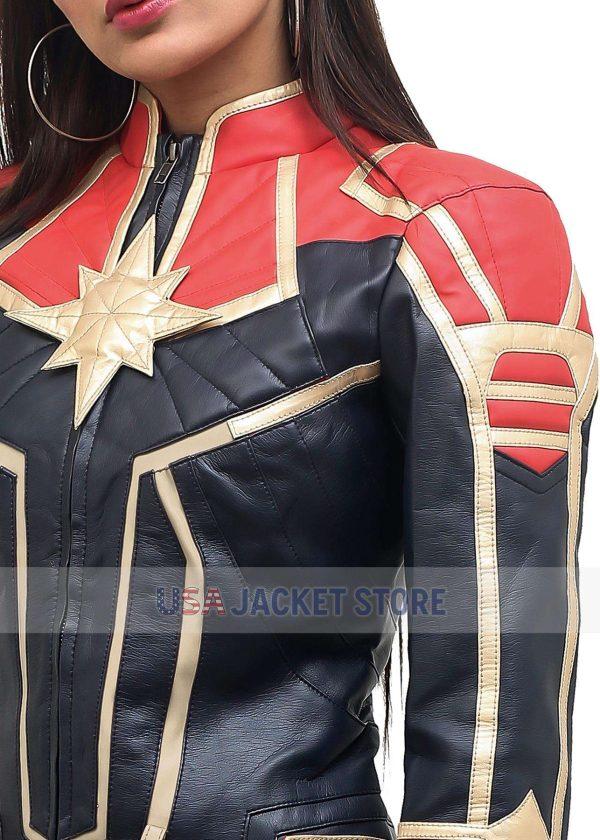 Brie Larson Captain Marvel 2 Carol Danvers Jacket