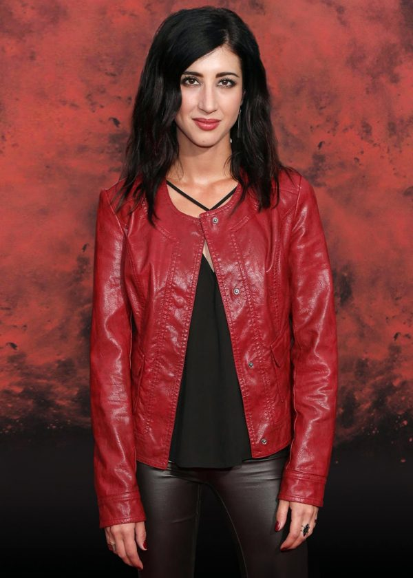Dana Delorenzo Halloween Horror Nights Leather Jacket