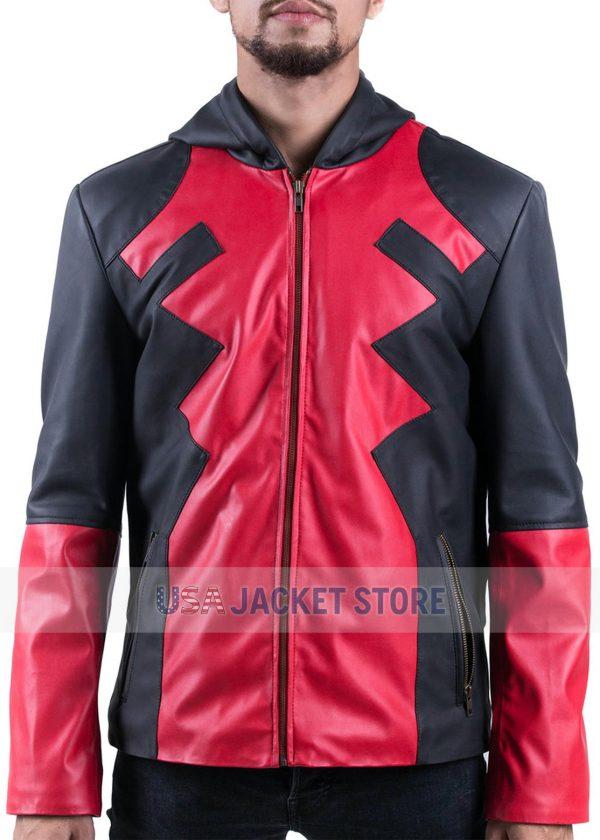 Deadpool Video Game Hoody Jacket