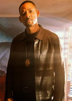Detective Mike Lowrey Bad Boys For Life Will Smith Leather Jacket
