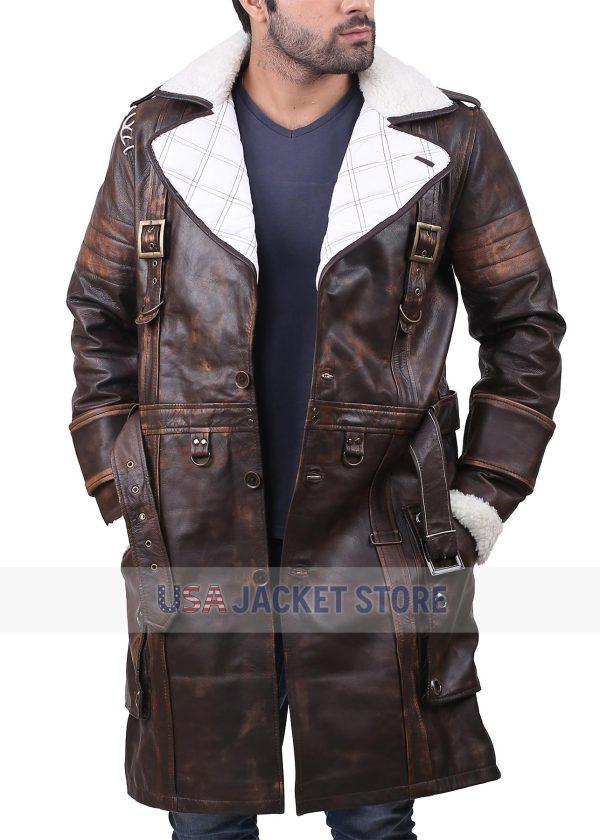 Elder Maxson Fallout 4 Video Game Leather Coat