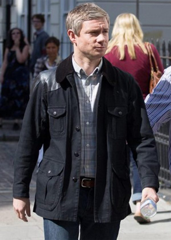 Martin Freeman John H Watson Sherlock Corduroy Jacket