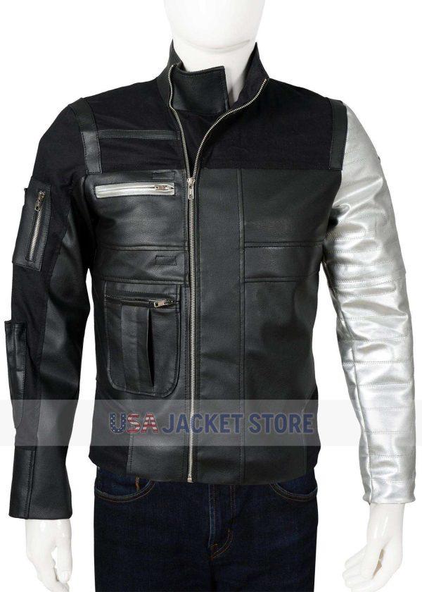 Sebastian Stan Bucky Barnes Black Panther Jacket